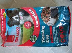 Orlando Complete Working Dog Food 10kg £5 - Lidl in store