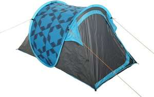 Halfords 2 Person Pop Up Tent beach shelter festival £18 C&C ONE DAY SPECIAL @ Halfords