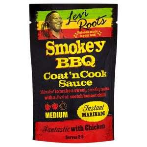 Levi Roots Coat And Cook Smoky Bbq 120G 50p @ Tesco