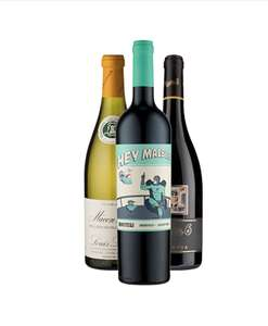 Free -  Majestic Wines 3 bottles - Free c&c (When trying the Wine Concierge subscription service)