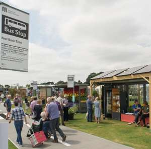 Free shuttle buses from Altrincham or Manchester Airport stations to RHS Tatton Park Flower Show, Knutsford