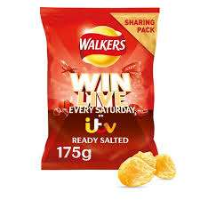 Walkers Ready Salted Sharing Bag 175g 15p Co-op - Bradford Heights Lane store