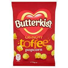 Butterkist Toffee Popcorn 170G 40p Instore Tesco Express (Bradford Haworth Road)