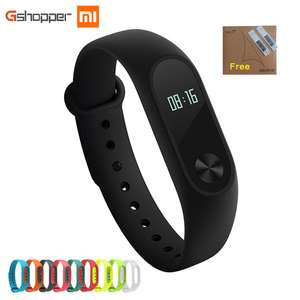 Original Xiaomi mi Band 2 Wristband Sleep Tracker IP67 Waterproof Smart mi Band For Android IOS Phones £8.13 @ Aliexpress gshopper