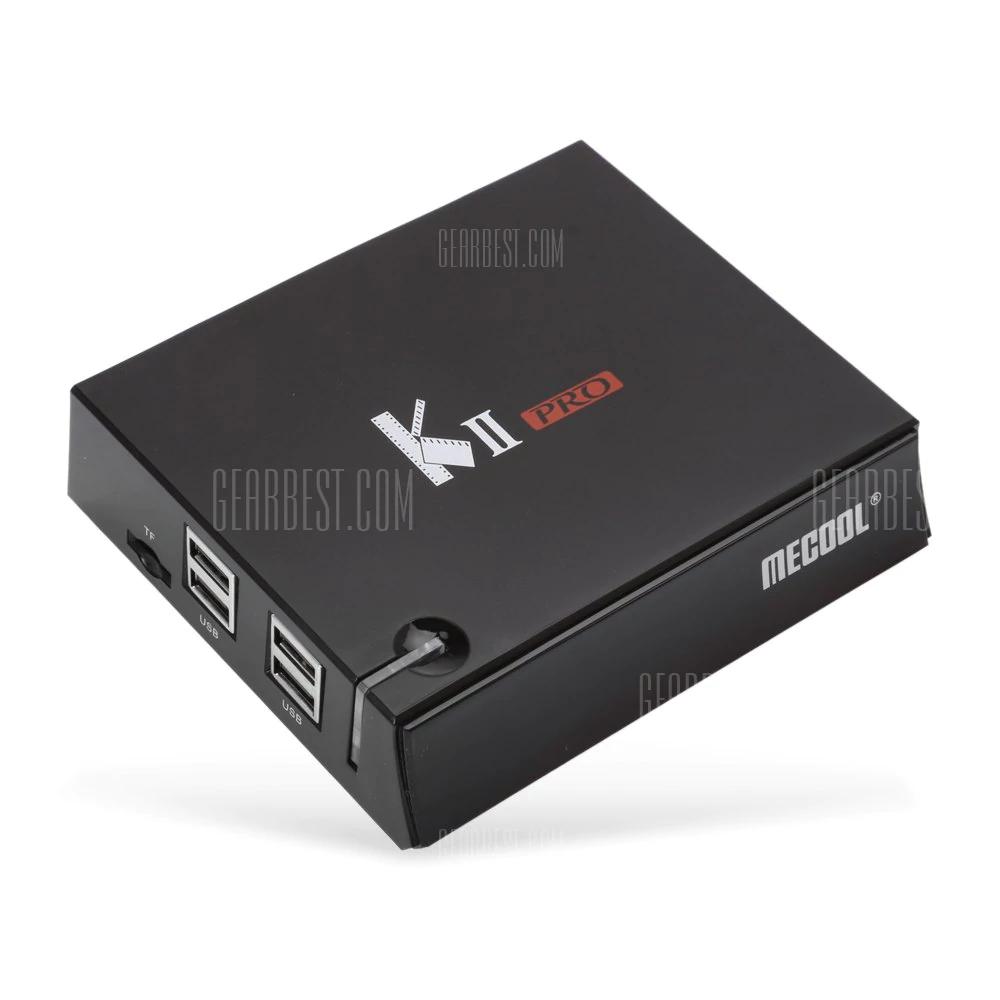 MECOOL KII PRO TV Box - BLACK UK PLUG 1