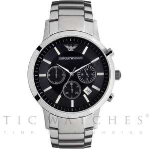 Armani Watches Classic Stainless Steel Mens Watch AR2434 £113.95 @ Tic Watches