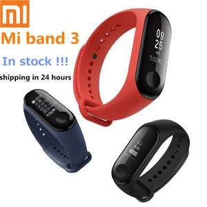 (first time purchasers only) 2018 Newest Xiaomi Mi Band 3 Smart Bracelet Heart Rate Monitor Bluetooth 4.2 £16.90 @ Aliexpress /Linda's Department Store