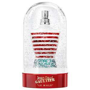 Jean Paul Gaultier Le Male 125ml Collector's Snow Globe/ Free Le Male Backpack £40.49 delivered with code @ The Perfume Shop