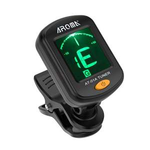 AROMA AT-01A Portable Digital Clip-on Tuner for Guitar / Bass / Ukulele / Violin - £1.57 delivered w/code @ Zapals.com