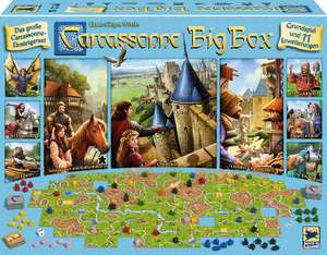 [Amazon.co.uk] Carcassonne Big Box 2017- New Art Style - German Rulebook - £36.67 Delivered