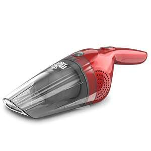 Dirt Devil HandiMate Handheld Vacuum Cleaner, 6 V, 0.4 Litre, 50 W, Red [Energy Class A+] - £11.99 Prime / £16.48 non Prime - Sold by WowDiscounts and Fulfilled by Amazon.