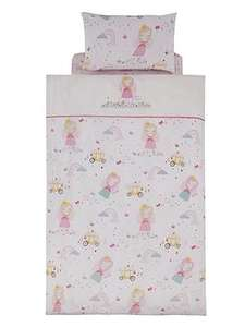 Catherine Lansfield Fairy Princess Single Duvet Cover Set was £15 now £7 C+C @ Very
