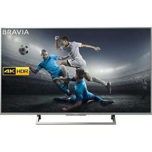 "Sony KD49XE8077SU 49"" Smart 4K Ultra HD HDR TV £429 w/code @ AO eBay"