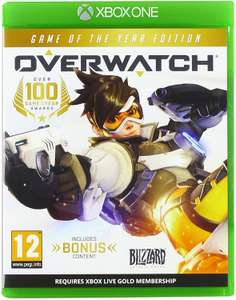 Overwatch Game Of The Year Edition (Xbox One & PS4) £14.99 prime exclusive - Amazon