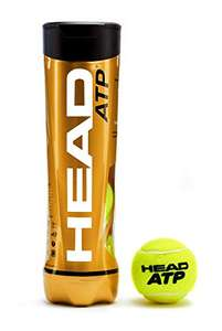 Head ATP Tennis Balls - 4 pack £5.25 prime / £9.74 non prime @ Amazon