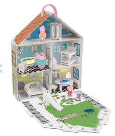 Peppa Pig House £10 Debenhams. Free C&C over £20 and £5 gift voucher.
