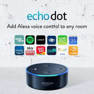 Echo dot white/black (starts at 12pm) £29.99 Amazon