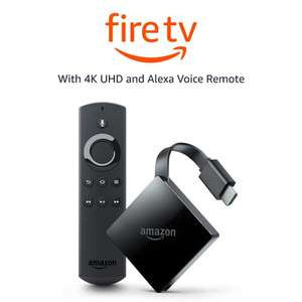 Amazon Fire TV with 4K HDR (Pendant Design) £39.99 (Prime Day) @ Amazon