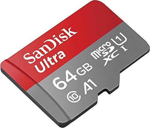 SanDisk ultra 64gb micro SD card £11.99 @amazon