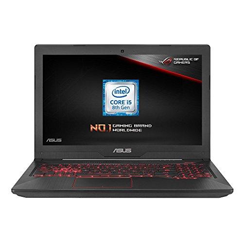 ASUS FX504 15.6-inch Gaming Laptop (Intel i5-8300H, Nvidia GTX 1050 2 GB, 8 GB RAM, 1 TB HDD) £549.99 @ Amazon