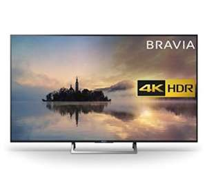 "Sony Bravia KD65XE7093 65"" 4K HDR Smart TV (2017 exclusive model) - Black £659 - Amazon prime day deal"