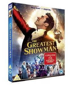 The greatest Showman 4k £13.99 prime day deal amazon