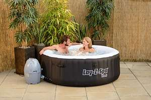 Lay-Z-Spa 54123-BNNX16AB02 Miami Hot Tub, Airjet Inflatable Spa, 2-4 Person - Black £234.99 Amazon