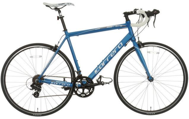 Carrera Zelos Mens Road Bike - 51, 54cm Frames Now £198 after discounts @ halfords