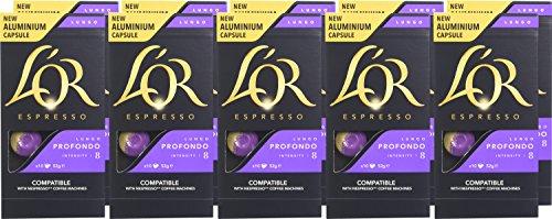 (Prime Day) L'OR Espresso Lungo Profondo Intensity 8 - Nespresso Compatible Coffee Capsules (Pack of 10, 100 Capsules in Total) £16.99 Amazon Prime