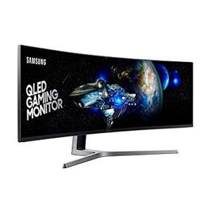 "samsung 49"" Curved 1ms Ultra Wide 144Hz Monitor 749.99 - Amazon Prime DOTD"