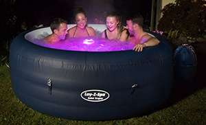 Lay-Z-Spa Saint Tropez Hot Tub with Floating LED Light £299.99 - Amazon Prime sale