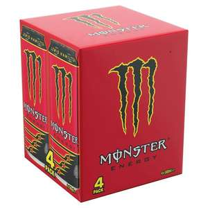 Monster Lewis Hamilton £2.75 for 4 at Morrisons