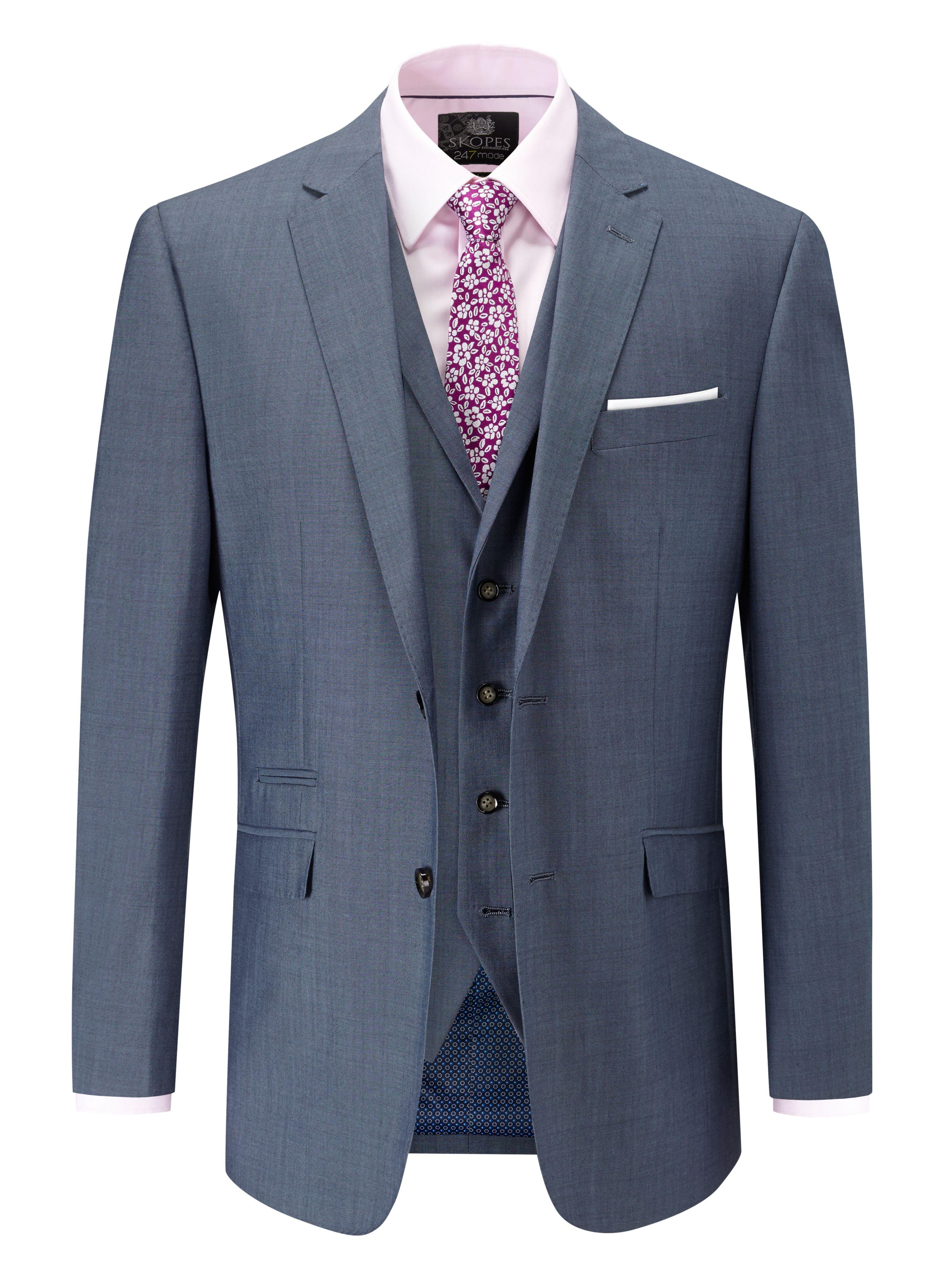 Skopes Egan 3-Piece Suit Wool-blend £89 @HoF PLUS 10% Student Discount PLUS 10% Quidco