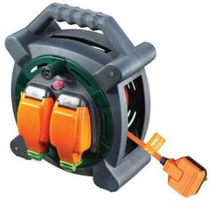 Masterplug Weatherproof Garden Extension Cable Reel - 20m 10A price for click & collect £23 @ Wickes