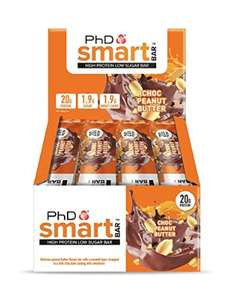 PhD Smart high protein bars £10.99 amazon prime day
