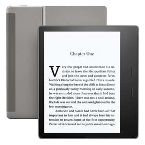 Certified Refurbished Kindle Oasis E-reader £135.99 amazon - warehouse - Used very good