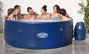 Lay-Z-Spa BW54113 Monaco Hot Tub, Airjet Inflatable Spa, 6-8 Person - Blue - £429.99 @ Amazon Prime Day