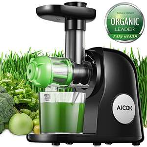 Aicock Slow Juicer Masticating Juicer Machine Juicers Whole Fruit and Vegetable Juicer £53.59 @ Amazon (Prime Day Deal)