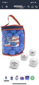 Second Chance 50 Lake Golf Balls with Storage Bag - £14.99 @ Amazon Prime Day