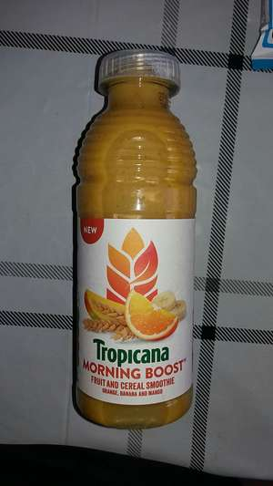 Tropicana morning boost  smoothie....4 for £1 @ Heron Foods