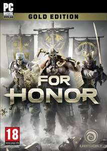 For Honor Gold Edition - Uplay PC Download - £5 (For Prime Members) @ Amazon (Prime Day Deal)