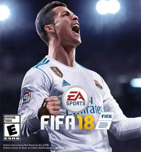 FIFA 18 - Xbox One @Microsoft store with Gold Membership for £15