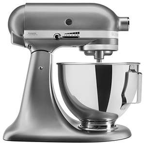 KitchenAid UK 5KSM95PSBCU Stand Mixer with Pouring Shield, Silver £349.99 @ Amazon (Prime Day Deal)