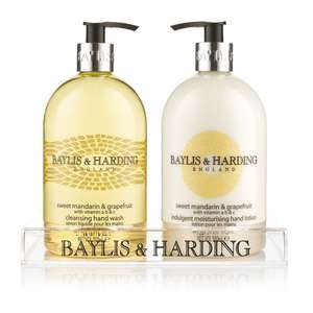 Baylis & Harding Sweet Mandarin & Grapefruit 500ml Hand Wash and Hand Lotion Set £4.99 delivered (Prime) £9.48 (Non Prime)
