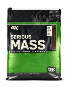Optimum Nutrition Serious Mass 5.45kg bag £27.99/£25.99 for students @ Amazon Prime Day