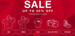 North Face Sale - up to 50% off - Online and Instore