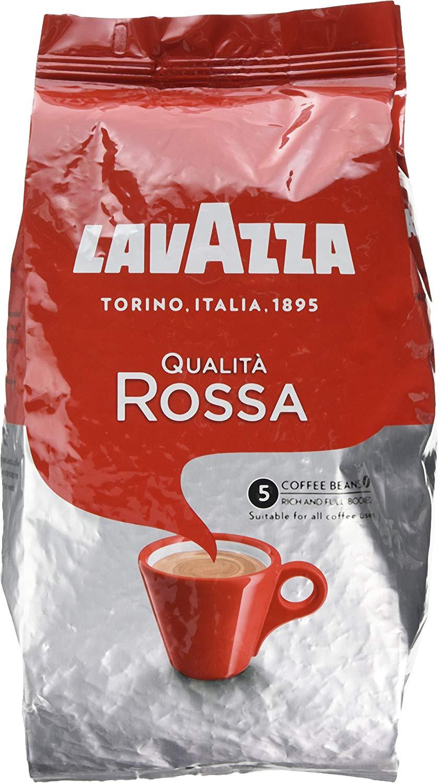 Lavazza qualita Rossa Coffee Beans 1kg prime deal £8.25 @ Amazon (Prime Day Deal)