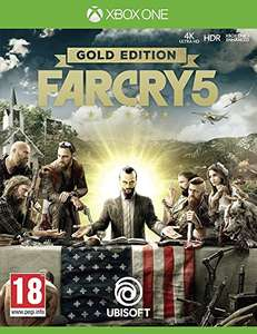 Far Cry 5 Gold Edition £48.99 / Deluxe Edtion £39.99 Xbox One ONLY !! - DIGITAL  DOWNLOAD CODES/ PRIME DAY DEAL @AMAZON
