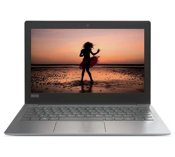 Lenovo IdeaPad 120S Celeron 11.6 In 4GB 32GB Cloudbook Grey (was £179.99) ARGOS £129.99