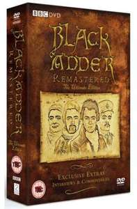 Blackadder: Remastered - The Ultimate Edition (Box Set) [DVD] £12.99 @ zoom.co.uk